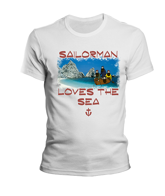 SAILOR MAN LOVE THE SEA ROSSO